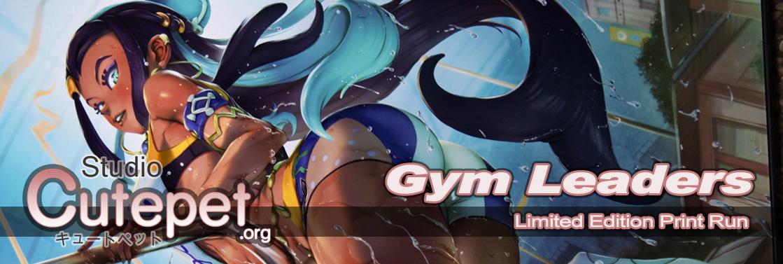 Blog: Pokemon Gym Leaders Bea & Nessa Limited Edition Print Run